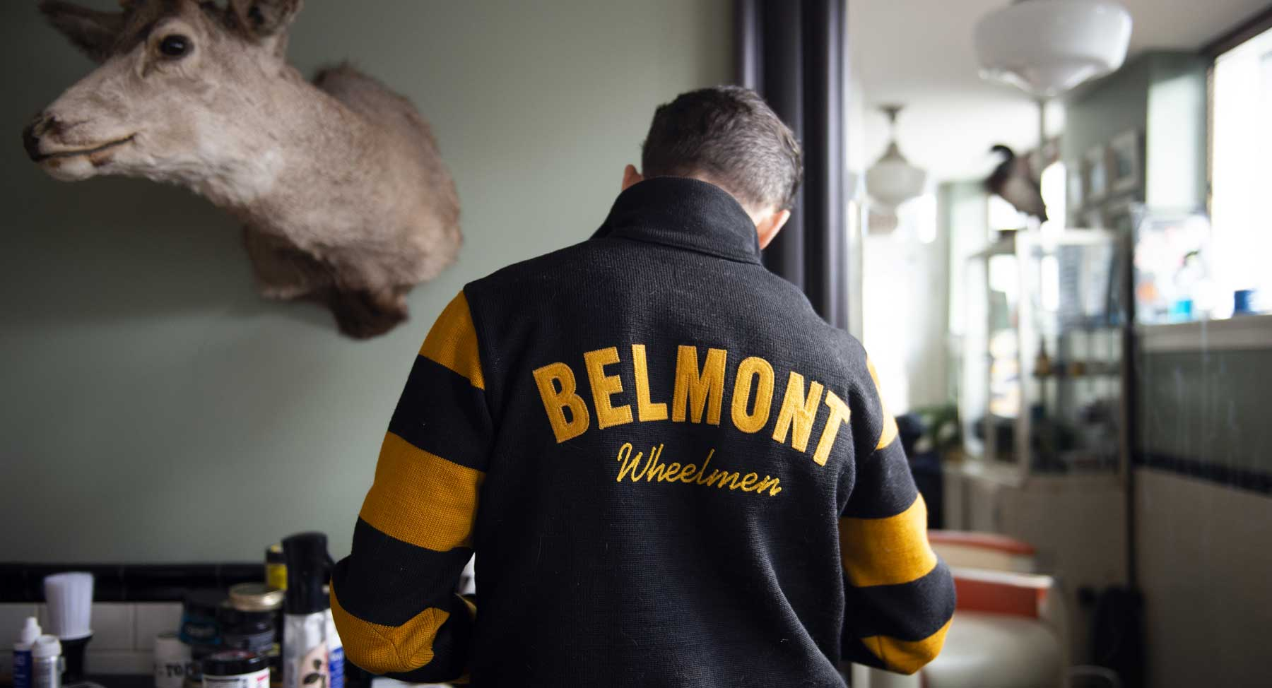 Belmont Barbershop Interior Photo
